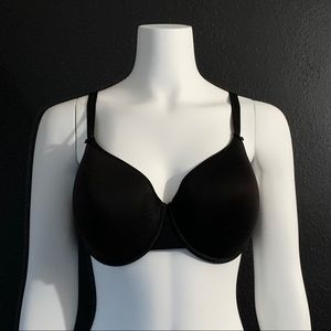 CHANTELLE Basic Invisible T-Shirt Bra Black 36DD
